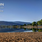 Penticton Tourism, Time to Breathe Banner Display