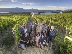 Tantalus Vineyard, Team Photo